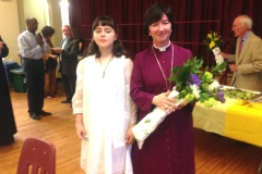 Bishop Jenny and Aden
